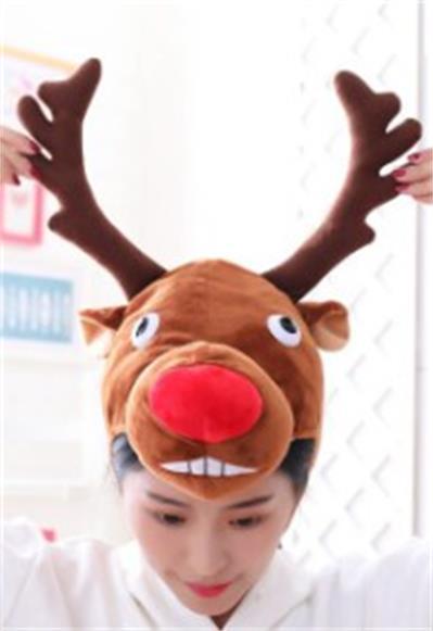 聖誕麋鹿頭套 參考圖